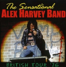 Alex Harvey ( Sensational Alex Harvey Band ) - British Tour '76