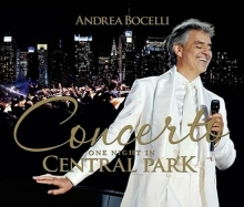 One Night In Central Park - de Andrea Bocelli