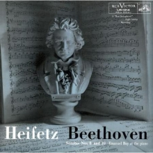 Jascha Heifetz - Beethoven: Sonata No. 8 & 10 for Violin and Piano