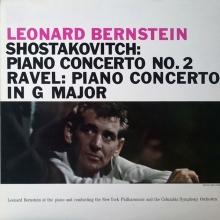Leonard Bernstein - Shostakovich: Piano Concerto No. 2 Ravel: Piano Concerto