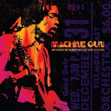 Jimi Hendrix - Machine Gun – The Fillmore East First Show 12/31/1969 (180g)