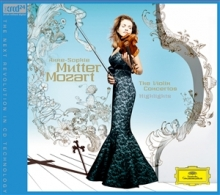 Mozart: The Violin Concertos Highlights - de Anne-Sophie Mutter