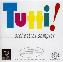 Orchestral Sampler (SACD) - de Tutti!