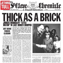 Jethro Tull - Thick As A Brick  -  180 Gr LP