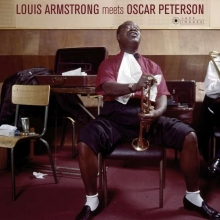 Louis Armstrong -  Louis Armstrong Meets Oscar Peterson (180g) (Limited-Edition)