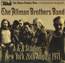 Allman Brothers Band - The Allman Brothers Band: Live From A&R Studios, New York, 1971