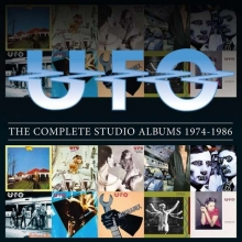 UFO. - The Complete Studio Albums 1974 - 1986