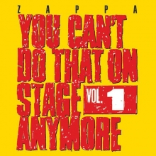 You Can't Do That On Stage Anymore Vol 1 - de Frank Zappa