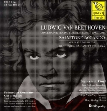 Accardo Salvatore - Ludwig van Beethoven: Violinkonzert op.61