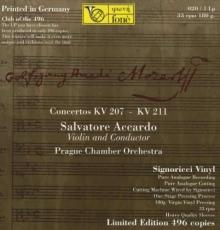 Accardo Salvatore - Wolfgang Amadeus Mozart: Violinkonzerte Nr.1 & 2