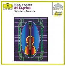 Niccolo Paganini: Capricen op.1 Nr.1-24 für Violine solo - de Accardo Salvatore