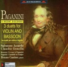 Accardo Salvatore - Niccolo Paganini: Duette Nr.1-3 für Violine & Fagott