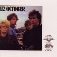 October (180g) - de U2