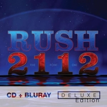 Rush (Band) - 2112 - Deluxe Edition - CD + Blu-ray Audio