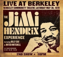 Live At Berkeley - de Jimi Hendrix