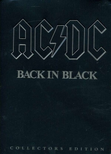 Back In Black (Collector's Edition) - de AC/DC