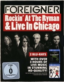 Rockin' At The Ryman / Live In Chicago (Boxset) - de Foreigner
