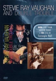 Live From Austin, Texas / Live At Carnegie Hall - DVD + CD - de Stevie Ray Vaughan