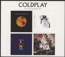 Coldplay - 4 CD Original (Limited Edition)