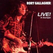 Live in Europe - de Rory Gallagher