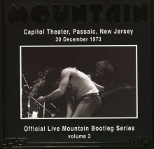 Mountain - Capitol Theater, Passaic, New Jersey, 30.12.1973