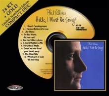 Hello, I Must Be Going - Limited Edition -  24 Karat Gold CD - de Phil Collins