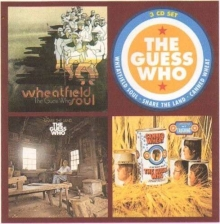 Guess Who - Wheatfield Soul / Share The Land / Canned Wheat