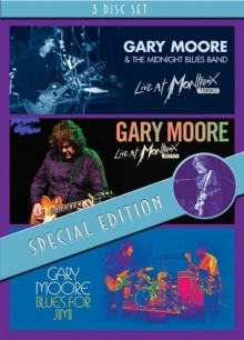 Gary Moore - Live At Montreux 1990 / Live At Montreux 2010 / Blues For Jimi (Special Limited Edition)