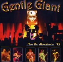 Live In Stockholm 1975 - de Gentle Giant