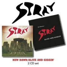 New Dawn / Alive And Giggin' - de Stray (Prog. Rock)