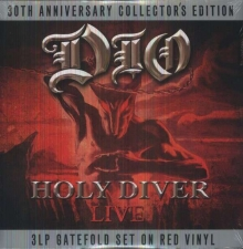 Holy Diver - Limited Collector's Edition - Red Vinyl - de Dio.