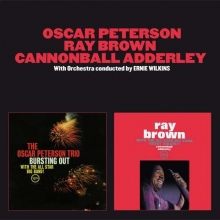 Oscar Peterson - Bursting Out / Ray Brown With The All-Star Big Band