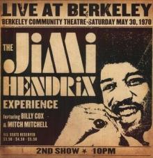Live At Berkeley - de Jimi Hendrix
